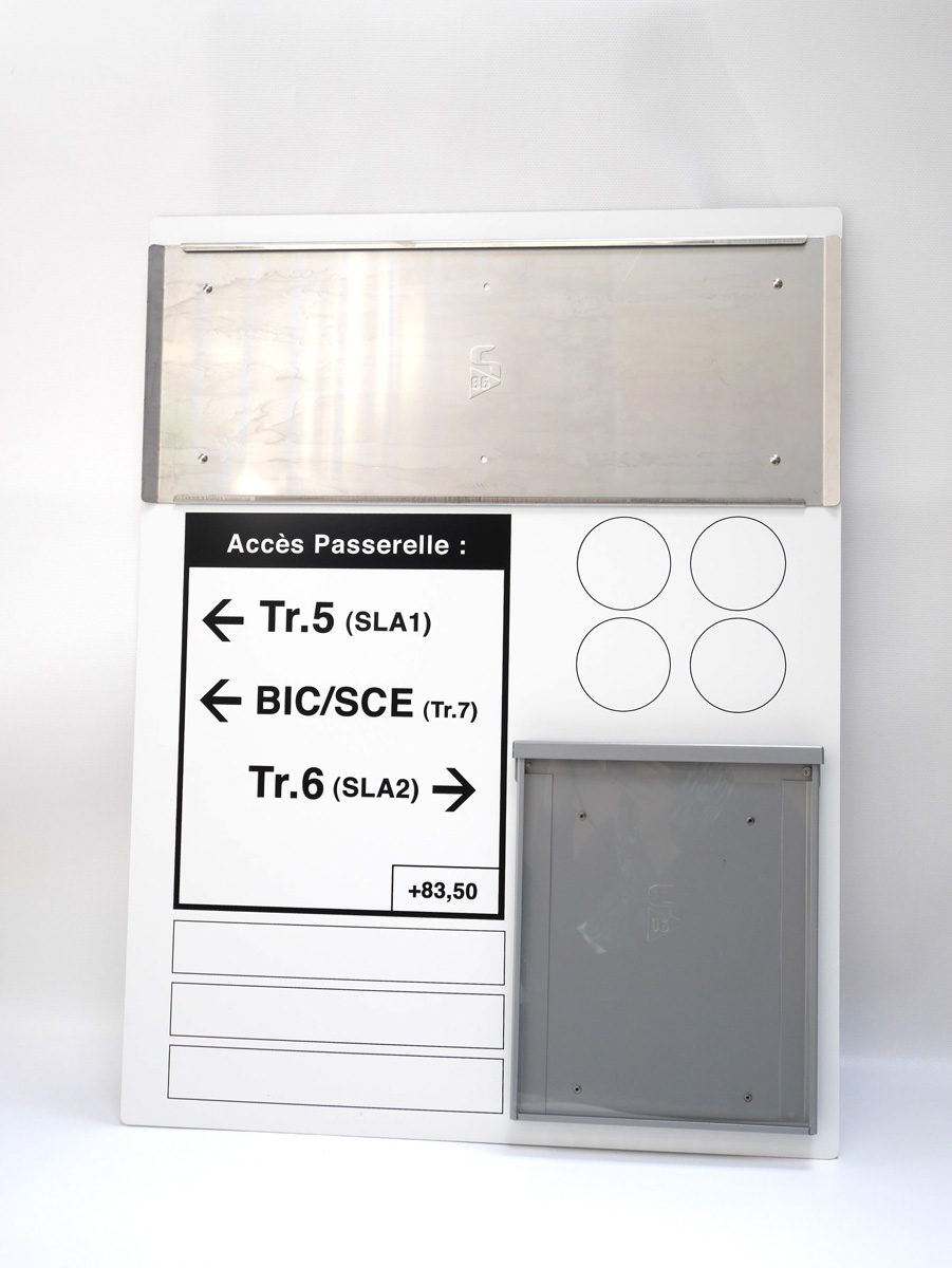 Panneau multi-information